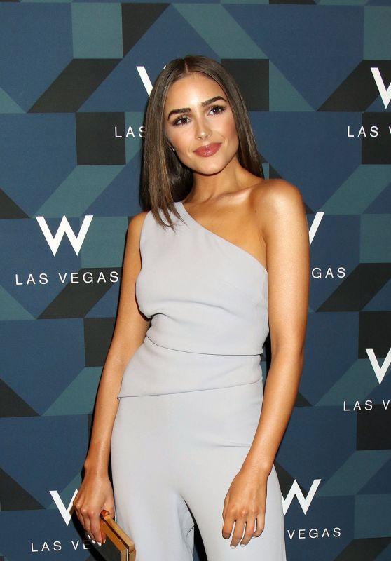 Olivia Culpo at W Las Vegas Hosts Grand Opening Celebration - Las Vegas 3/31/2017
