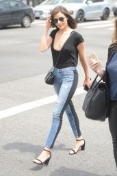 Olivia Culpo in Tight Jeans - Shopping in West Hollywood 4/11/2017