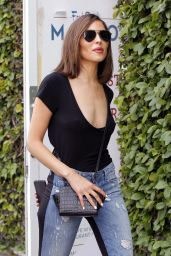 Olivia Culpo - Leaves The REVOLVE Store on Melrose in Los Angeles, April 2017