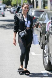 Olivia Culpo Looks Chic - Melrose Place in West Hollywood 04/28/2017