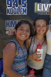 Olivia Holt - Meet & Greet at LIVE 101.5 PRESENTS #KIDTOPIA! Festival in Phoenix 4/22/2017