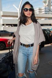 Olivia Munn at LAX Airport in Los Angeles 4/16/2017