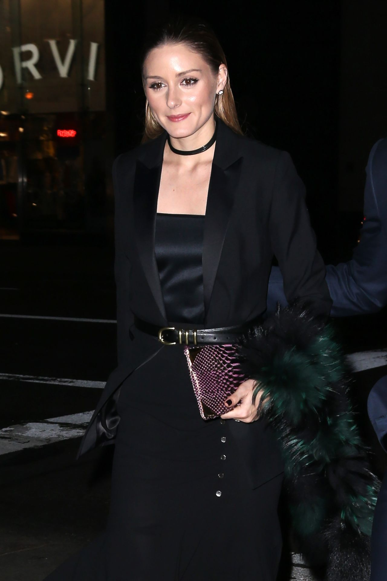 Olivia Palermo - Arrives at Montblanc Pens A New Chapter With UNICEF in NY 4/3/2017
