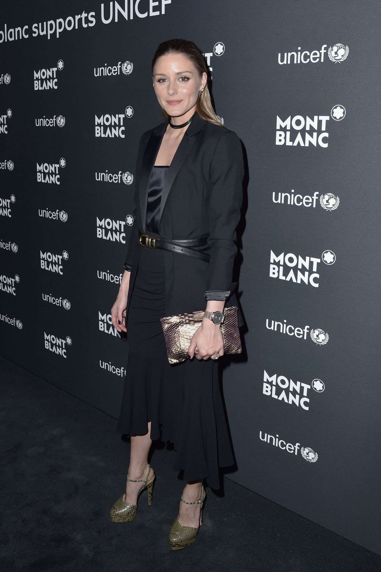 Olivia Palermo - Montblanc for UNICEF Collection Launch in New York 4/3/2017