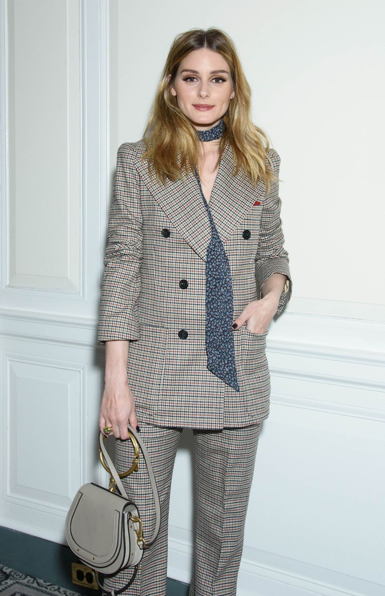 Olivia Palermo – The Fragrance Foundation Awards Finalist's Luncheon in NY 4/7/2017