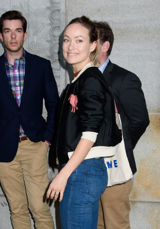 "Olivia Wilde - ""In & Of Itself"" Opening Night on Broadway 4/12/2017"