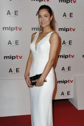 Ozlem Conker – MIPTV Opening Party at the Martinez Hotel in Cannes 4/7/2017