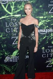 """Paige Mobley - """"The Lost City of Z"""" Premmiere in Los Angeles"""