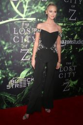 "Paige Mobley - ""The Lost City of Z"" Premmiere in Los Angeles"