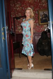 Pamela Anderson at Coco de Mer: Icons Collection Launch Party in London 4/3/2017
