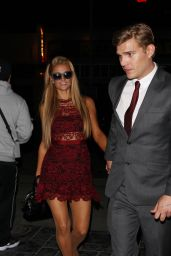 Paris Hilton and Boyfriend Chris Zylka Party at Tao Night Club 4/4/2017