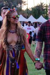 Paris Hilton at Coachella in Indio 4/14/