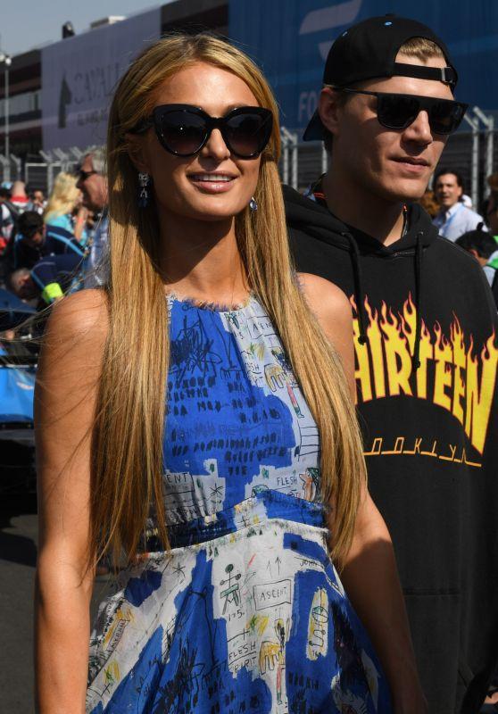 Paris Hilton at the FormulaE Event in Mexico, April 2017