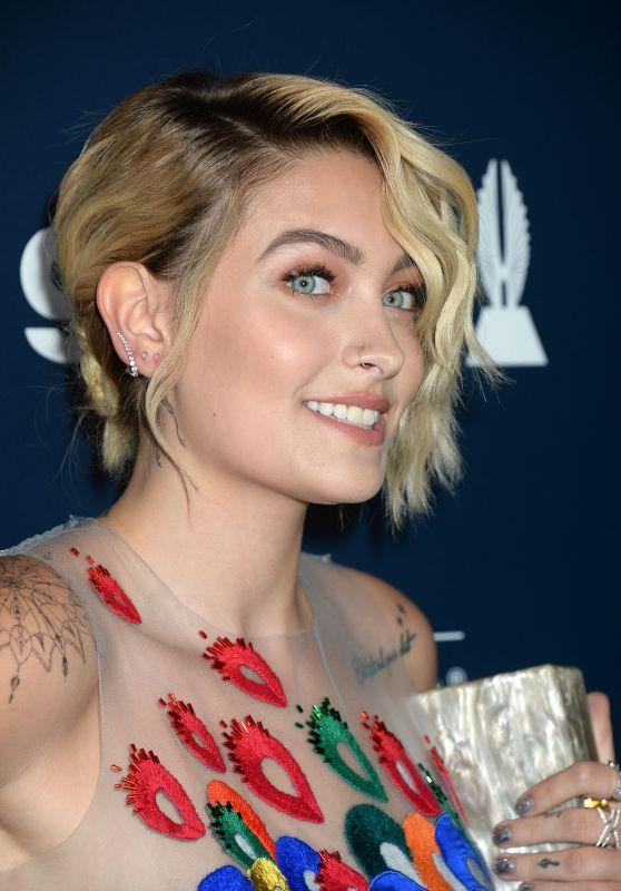 Paris Jackson – GLAAD Media Awards in Los Angeles 4/1/2017