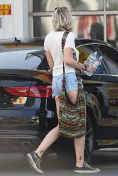 Paris Jackson in Shorts - out in Studio City 4/22/2017