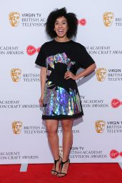 Pearl Mackie – British Academy Television and Craft Awards 2017 Nominees Party in London