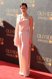 Phoebe Fox on Red Carpet at Olivier Awards 2017 in London