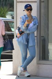 Pia Mia in Jeans  - Goes Shopping in Beverly Hills 4/5/2017