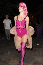 Pixie Lott Arrives at Her Secret Gig in Clapham in London, April 2017