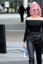 Pixie Lott at BBC in London 4/18/2017