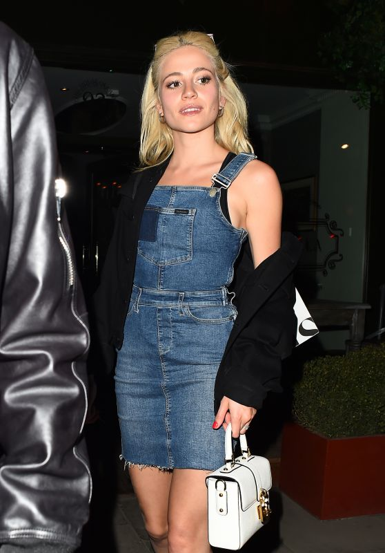 Pixie Lott Night Out Style - London 4/7/2017