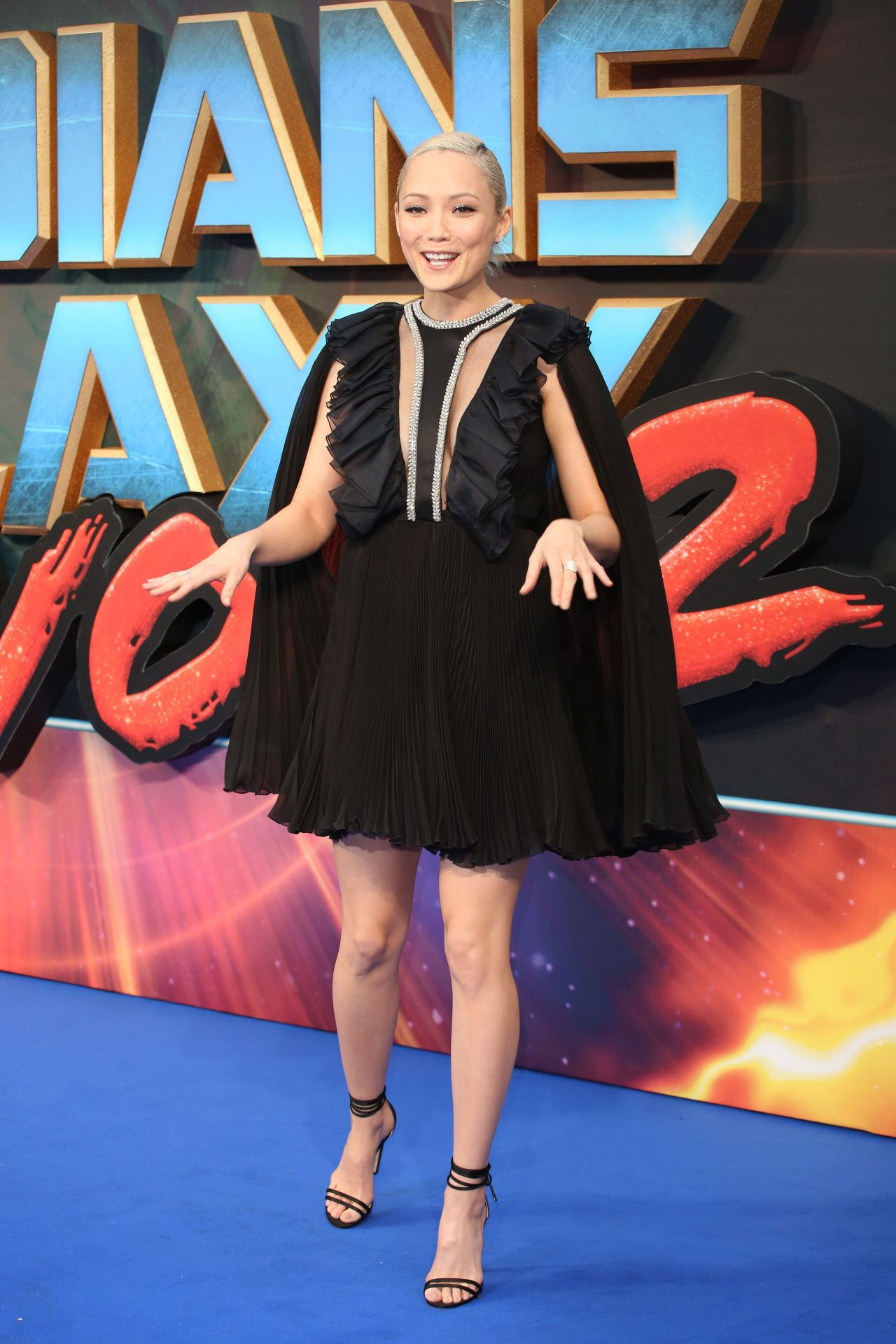Pom Klementieff At Guardians Of The Galaxy Vol 2 Premiere