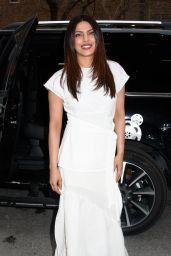Priyanka Chopra - Exits Tribeca Film Festival Juror Welcome Lunch 4/20/2017
