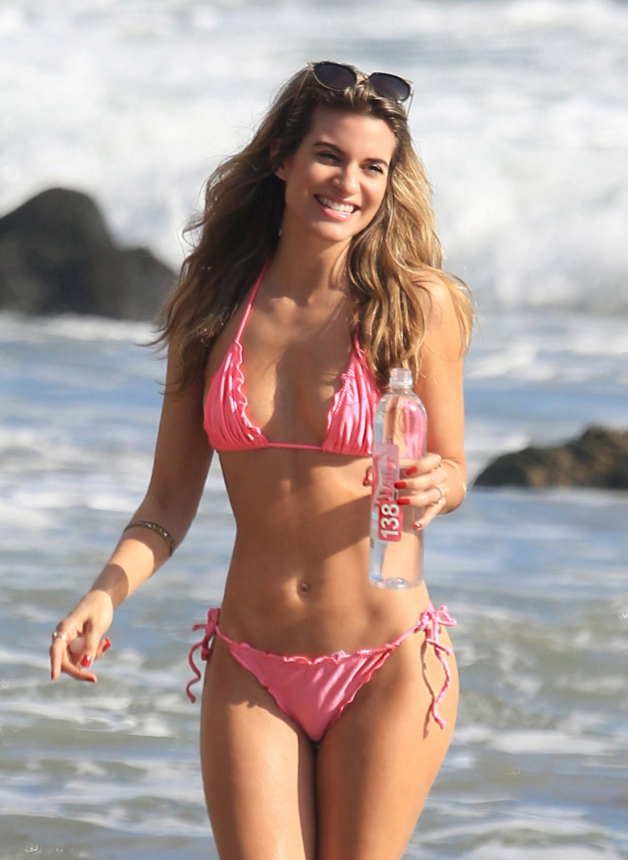 Claudia escobar mini bikini smile pretty