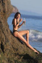 Rachel McCord in Black Bikini - 138 Water Photoshoot in Miami, March 2017