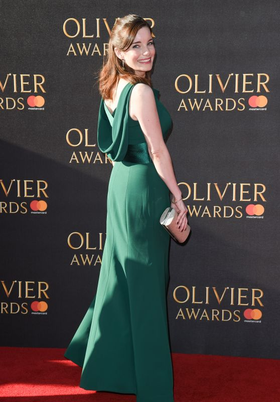 Rebecca Trehearn at Olivier Awards in London 4/9/2017