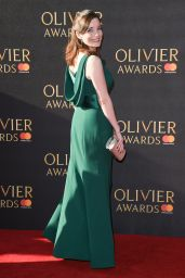 Rebecca Trehearn at Olivier Awards in London 4/9/2017