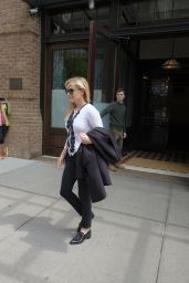Reese Witherspoon - Leaving Her Hotel in Tribeca, New York 4/20/2017