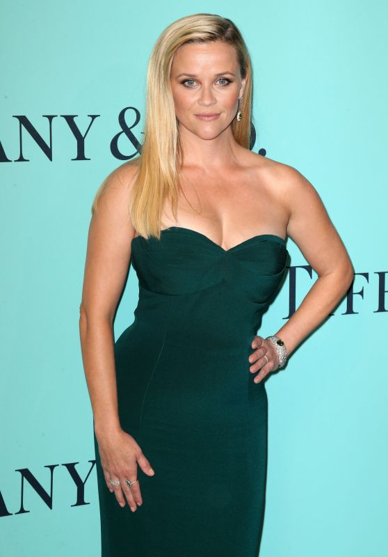 Reese Witherspoon – Tiffany & Co. Blue Book Collection Gala in New York City 4/21/2017