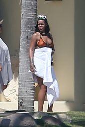Rihanna in a bikini in Puerto Vallarta, Mexico, April 2017