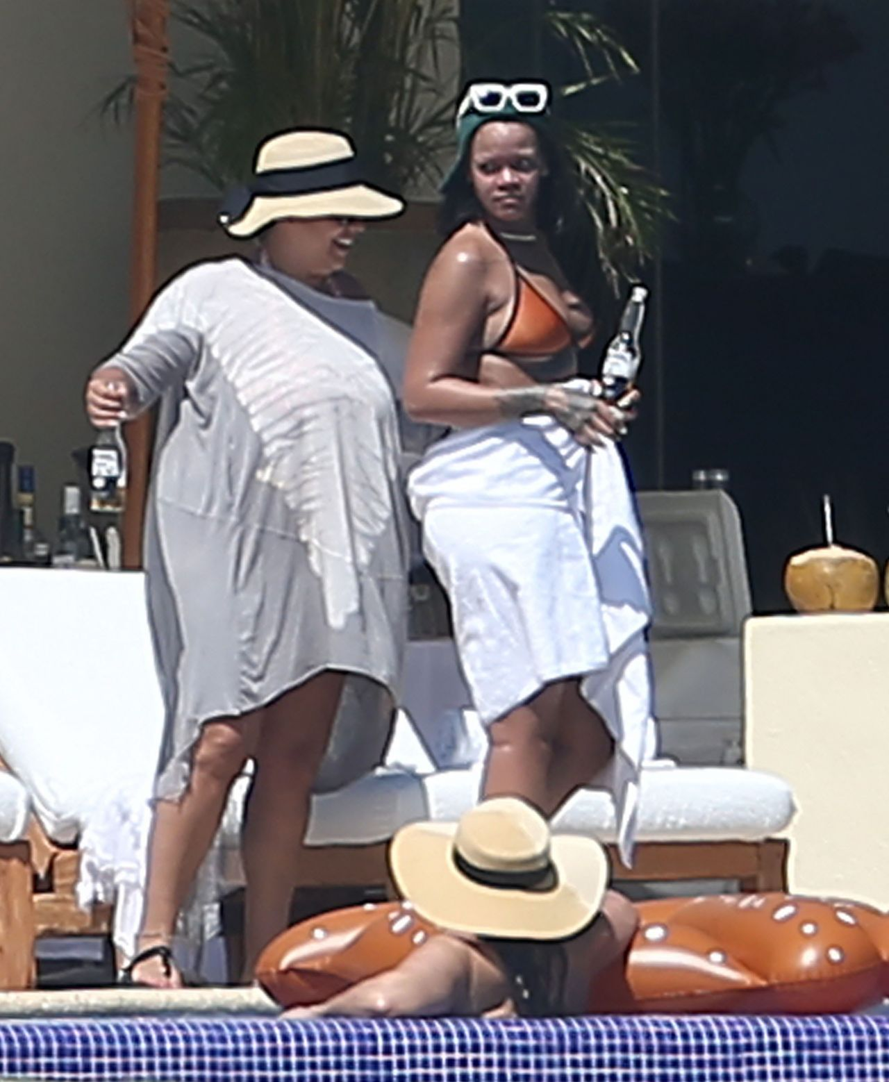 Rihanna In A Bikini In Puerto Vallarta Mexico April 2017
