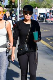 Rita Ora at a Gym in Notting Hill in London 4/8/2017