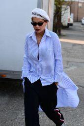 Rita Ora in Casual Attire - Out in London 4/7/2017