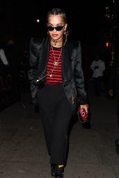 Rita Ora Leaving O2 Shepherd