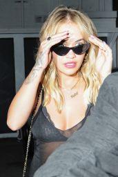 Rita Ora New Hair Style - Beverly Hills 4/12/2017