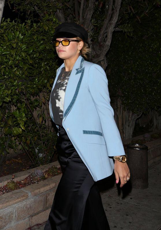 Rita Ora Night Out - Leaving a Sushi Restaurant in LA 4/23/2017