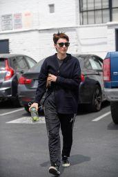 Rooney Mara - Leaves the Gym in LA 4/11/2017