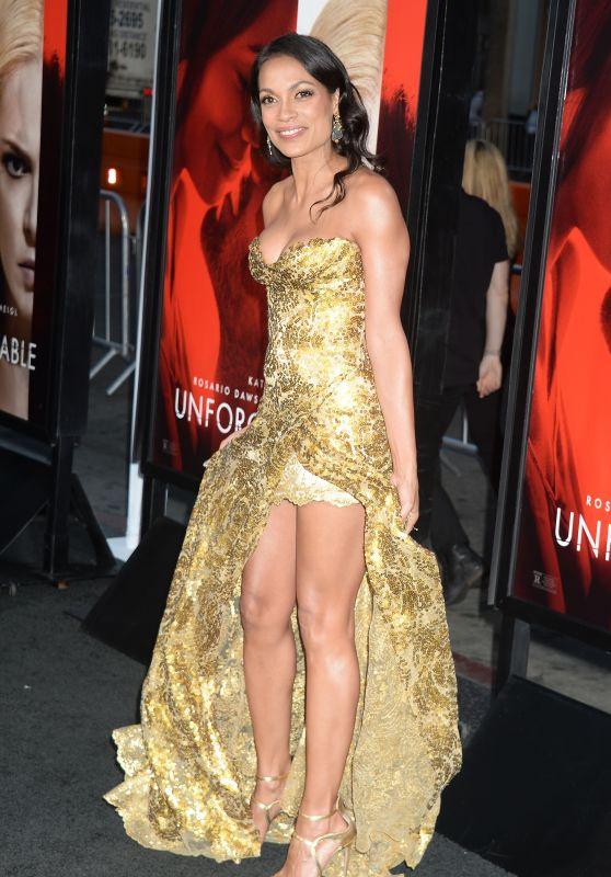 """Rosario Dawson – """"Unforgettable"""" Premiere in LA 4/18/2017"""
