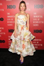"Rose Byrne - ""The Immortal Life of Henrietta Lacks"" Screening in New York City 4/18/2017"