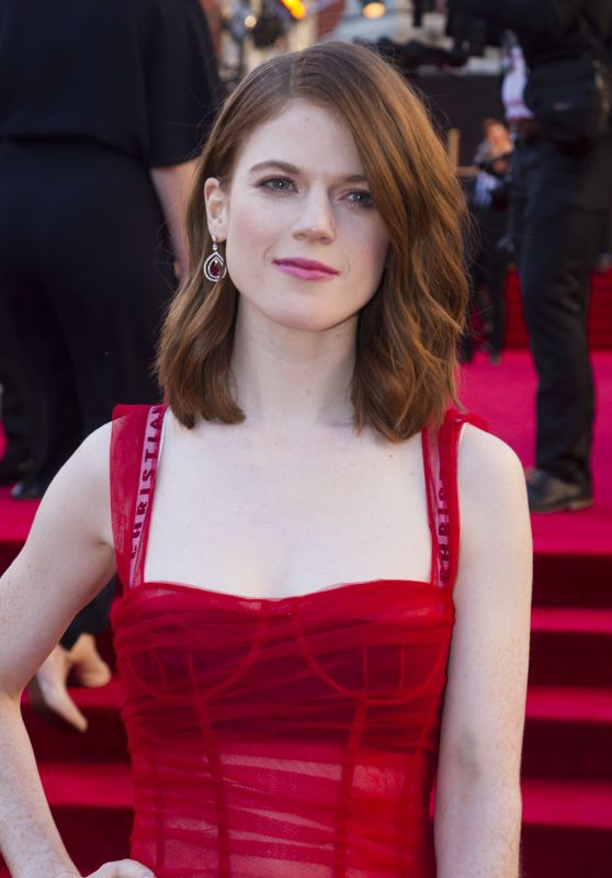 Rose Leslie – Olivier Awards 2017 in London