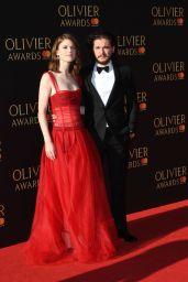 Rose Leslie – Olivier Awards 2017 in London