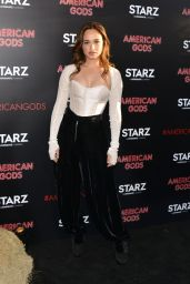 "Rose Williams - ""American Gods"" Premiere in Los Angeles 4/20/2017"
