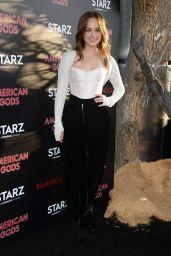 "Rose Williams - ""American Gods"" Premiere in Los Angeles 4/20/2017"
