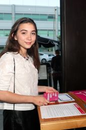 "Rowan Blanchard - ""Shelter For All"" Campaign Event in Los Angeles 4/20/2017"