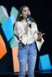 Rowan Blanchard - WE Day New York 4/6/2017