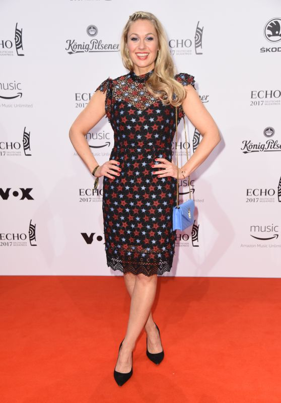 Ruth Moschner at ECHO Music Awards 2017 in Berlin